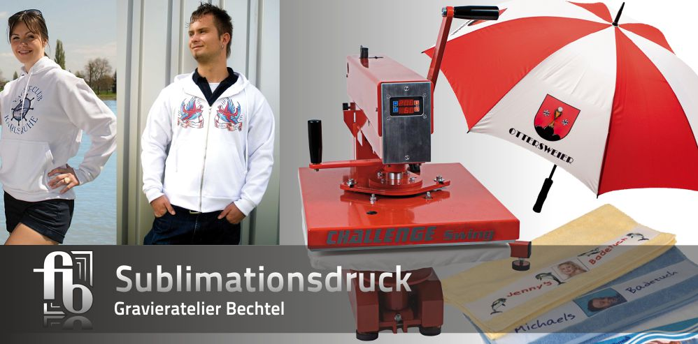 Schaufenster Sublimationsdruck